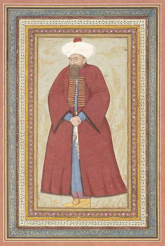 Portrait d'un dignitaire ottoman