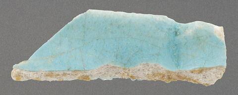 Fragment de bord dentelé de coupe