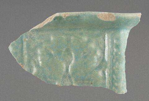 Fragment de bol polygonal aux harpies