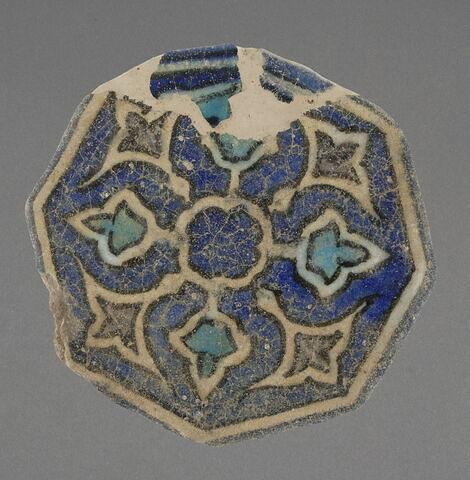 Hexagone à décor rayonnant