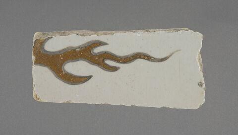 Fragment d'un panneau à décor de paysage