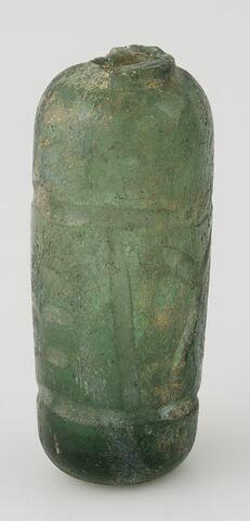 Flacon cylindrique à col brisé