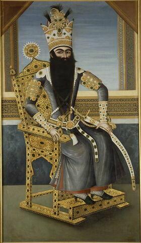 Portrait de Fath Ali Shah