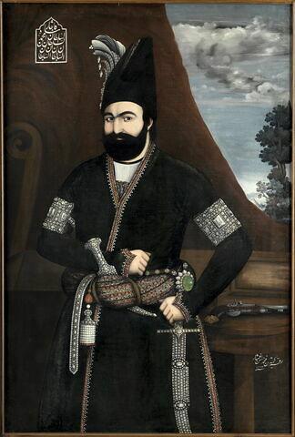 Portrait de Muhammad Shah Qadjar (1834 - 1848)