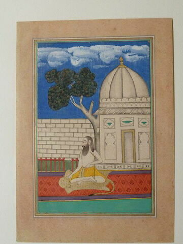 Ascète indien (Sadhu Saiva)