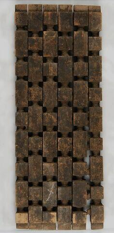 Fragment de moucharabieh : élément de rampe de minbar (?)
