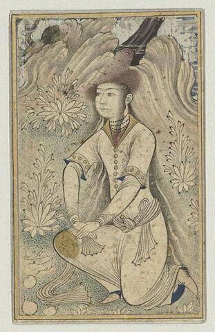 Jeune fille au bonnet de fourrure
