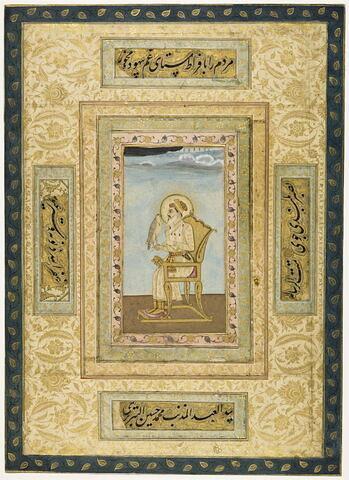 Portrait de Shah Jahan