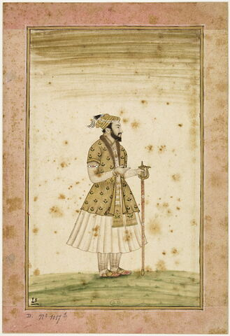 Portrait d'un fils d'Aurangzeb