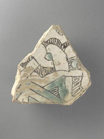 Bord de coupe à décor de pseudo-inscription et entrelacs