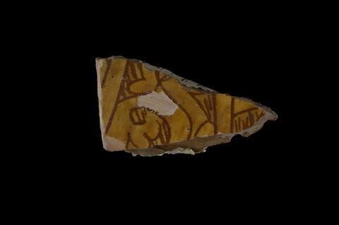 Fragment de vase à décor de rinceaux