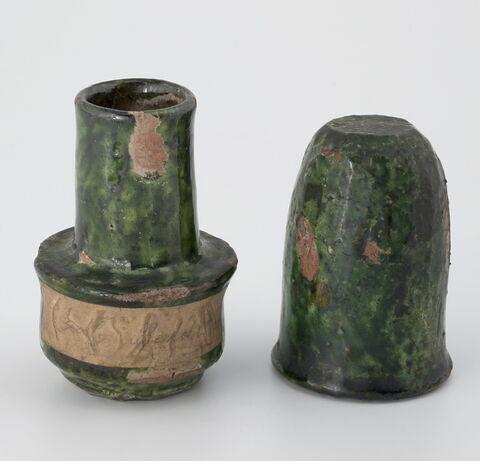 Petit vase avec couvercle