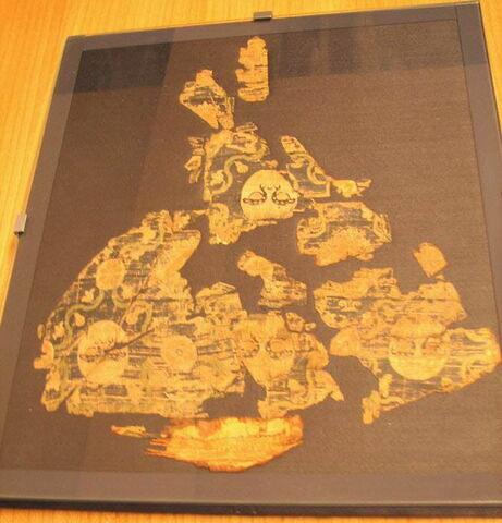 vue d'ensemble ; dessus © 2010 Musée du Louvre / Antiquités égyptiennes