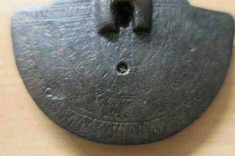 face, recto, avers, avant ; détail ; partie médiane ; partie inférieure © 2018 Musée du Louvre / Antiquités égyptiennes