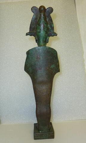 dos, verso, revers, arrière © Musée du Louvre / Antiquités égyptiennes