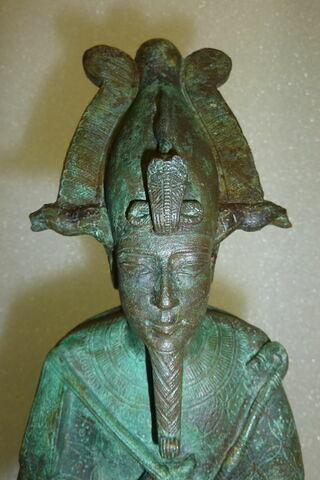 face, recto, avers, avant ; détail © Musée du Louvre / Antiquités égyptiennes