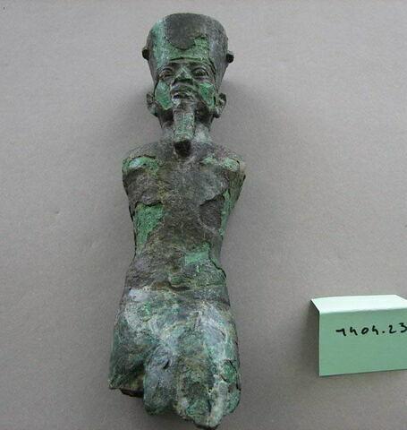 détail ; profil © 2010 Musée du Louvre / Antiquités égyptiennes