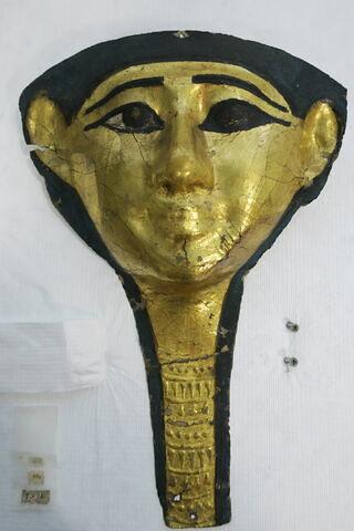 masque de momie ; fragment