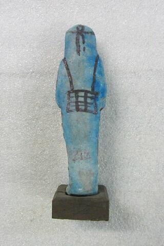 dos, verso, revers, arrière © 2020 Musée du Louvre / Antiquités égyptiennes