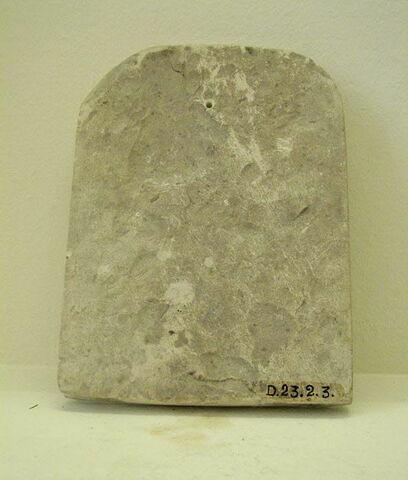dos, verso, revers, arrière © 2008 Musée du Louvre / Antiquités égyptiennes