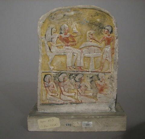 face, recto, avers, avant © 2010 Musée du Louvre / Antiquités égyptiennes