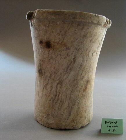 détail ; face, recto, avers, avant ; vue de dessus © 2010 Musée du Louvre / Antiquités égyptiennes
