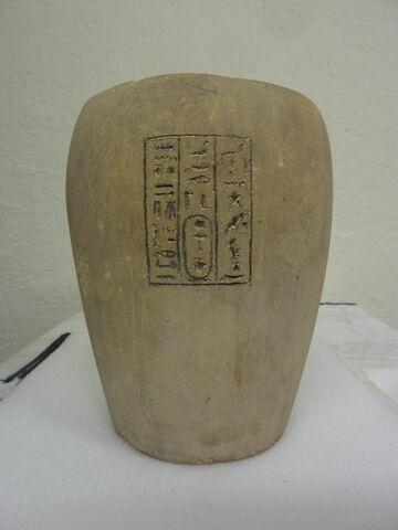 face, recto, avers, avant ; vue d'ensemble © Musée du Louvre / Antiquités égyptiennes