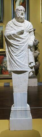 statue ; Terme d'Homère