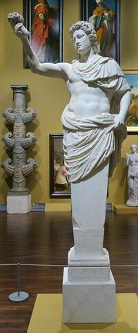 statue ; Terme de Mercure