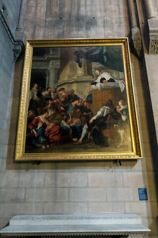 Saint Vincent de Paul prêchant