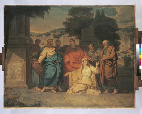 La Cananéenne aux pieds de Jésus-Christ