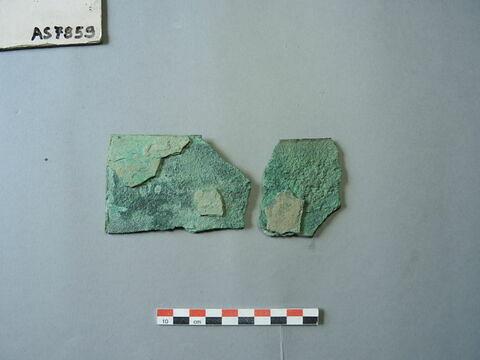 fragment ; plaque