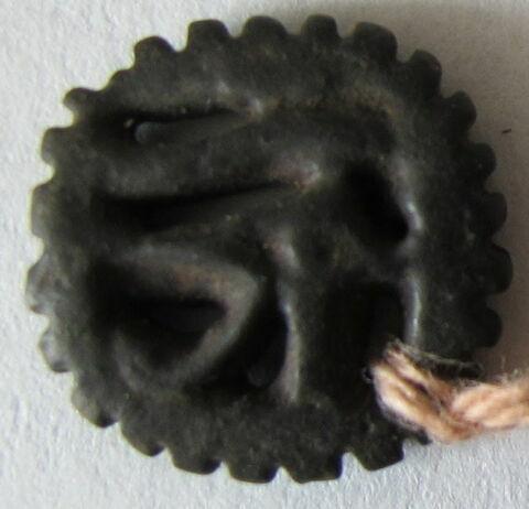 amulette oudjat circonscrit ajouré