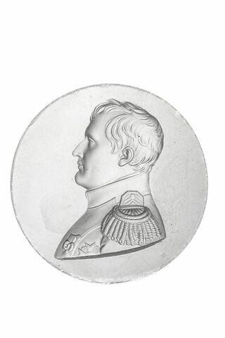 Médaillon avec profil de Napoléon