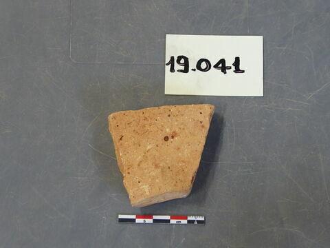 tomette, fragment