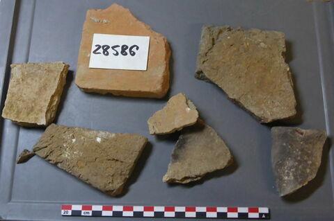 élément de construction, fragment