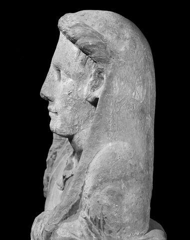 profil gauche © 1996 Musée du Louvre / Christian Larrieu