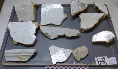 élément de construction, fragment ; élément mouluré, fragment