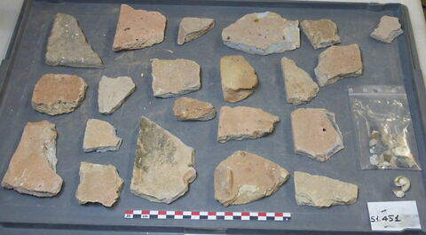 élément de construction, fragment ; escargot, fragment