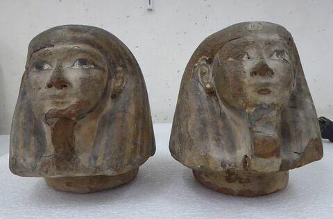 vue d'ensemble ; vue groupée © 2017 Musée du Louvre / Antiquités égyptiennes