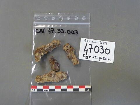 piton, fragment ; tige fragment