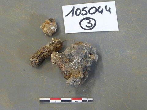 tige fragment ; clou, fragment
