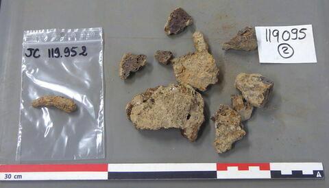 tige fragment ; scorie