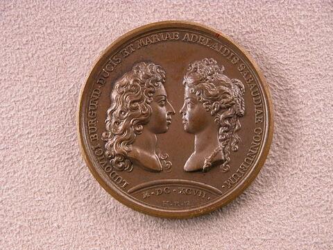 Le mariage du duc de Bourgogne avec Marie-Adélaïde de Savoie