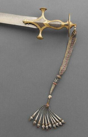 Cordelette de poignée d'un sabre (talwar)