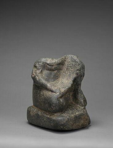 trois quarts face © 2018 Musée du Louvre / Christian Décamps