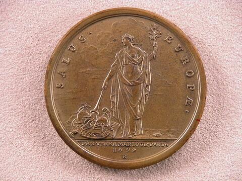 Troisième médaille sur la paix - Traité de Ryswick