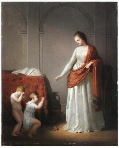 face, recto, avers, avant ; vue d'ensemble ; vue sans cadre © 2018 Musée du Louvre / Peintures