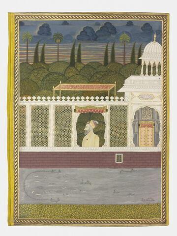 ʿAzim al-Shan (page d'album)