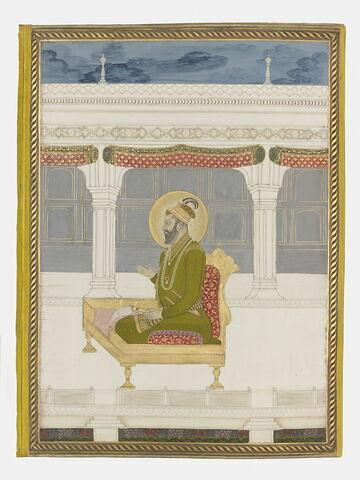 Farrukhsiyar (page d'album)